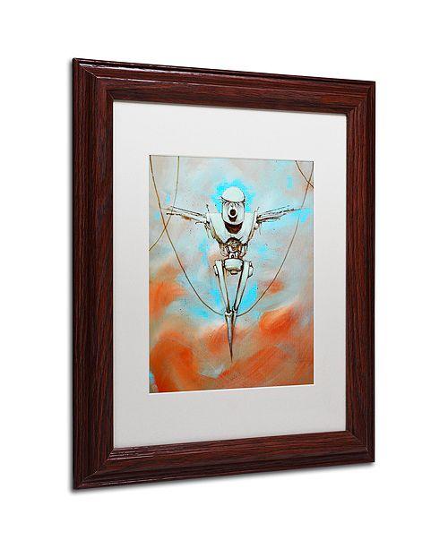 "Trademark Global Craig Snodgrass 'Martyr' Matted Framed Art, 11"" x 14"""