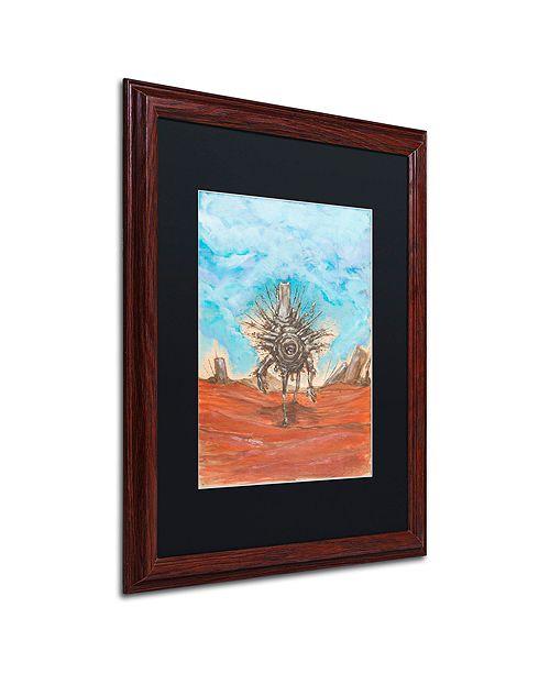 """Trademark Global Craig Snodgrass 'The Internet' Matted Framed Art, 16"""" x 20"""""""