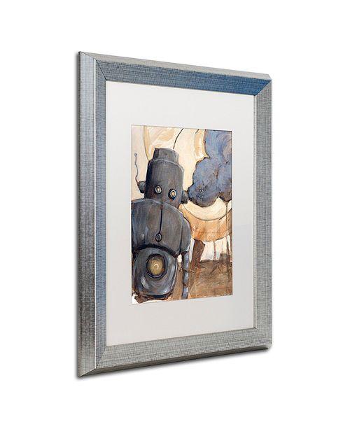"""Trademark Global Craig Snodgrass 'All Done Now' Matted Framed Art, 16"""" x 20"""""""