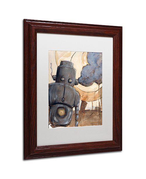 """Trademark Global Craig Snodgrass 'All Done Now' Matted Framed Art, 11"""" x 14"""""""