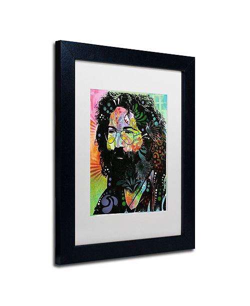 """Trademark Global Dean Russo 'Garcia' Matted Framed Art, 11"""" x 14"""""""