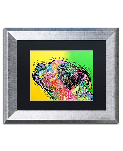 "Trademark Global Dean Russo 'Lick You to Death' Matted Framed Art - 11"" x 14"""