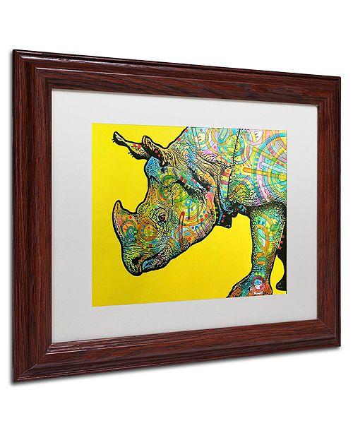 """Trademark Global Dean Russo 'Java' Matted Framed Art, 11"""" x 14"""""""