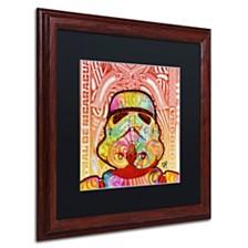"""Dean Russo 'Stormtrooper' Matted Framed Art, 16"""" x 16"""""""