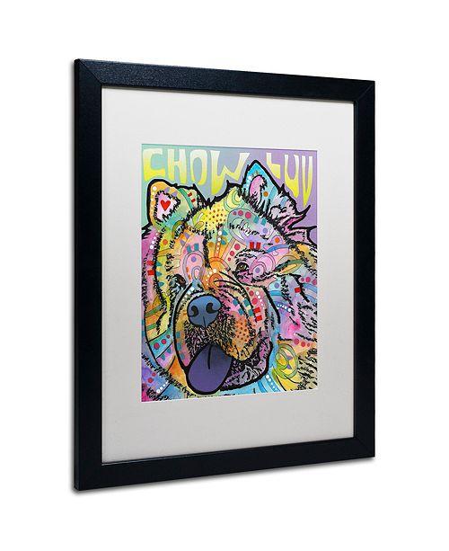 "Trademark Global Dean Russo 'Chow Love' Matted Framed Art, 16"" x 20"""