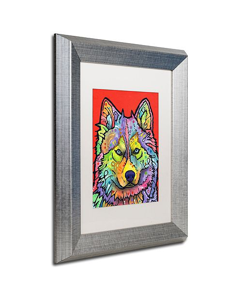 "Trademark Global Dean Russo 'Magua' Matted Framed Art, 11"" x 14"""