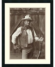 Amanti Art John Wayne Framed Art Print