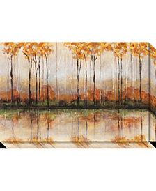 Amanti Art Treeline Canvas Art Gallery Wrap