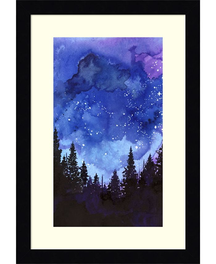 Amanti Art - Let's Go See The Stars 11x16 Framed Art Print