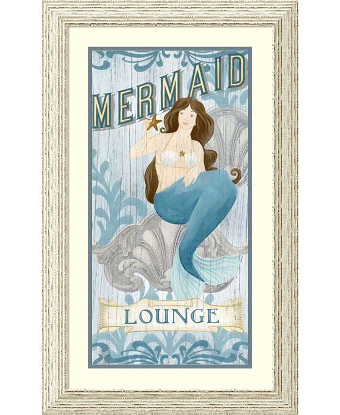 Amanti Art - Mermaid I 19x31 Framed Art Print