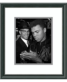 Muhammad Ali And Malcolm X, Nyc, March 1, 1964  Framed Art Print