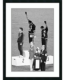 Black Power Olympic Medalists, Mexico City, 1968  Framed Art Print