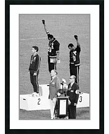 Amanti Art Black Power Olympic Medalists, Mexico City, 1968  Framed Art Print
