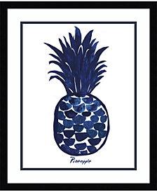 Amanti Art Indigo Pineapple Framed Art Print