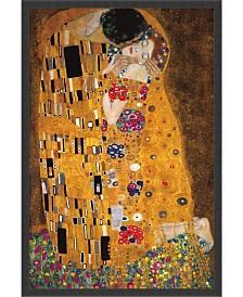 Amanti Art The Kiss , 1907 Framed Art Print
