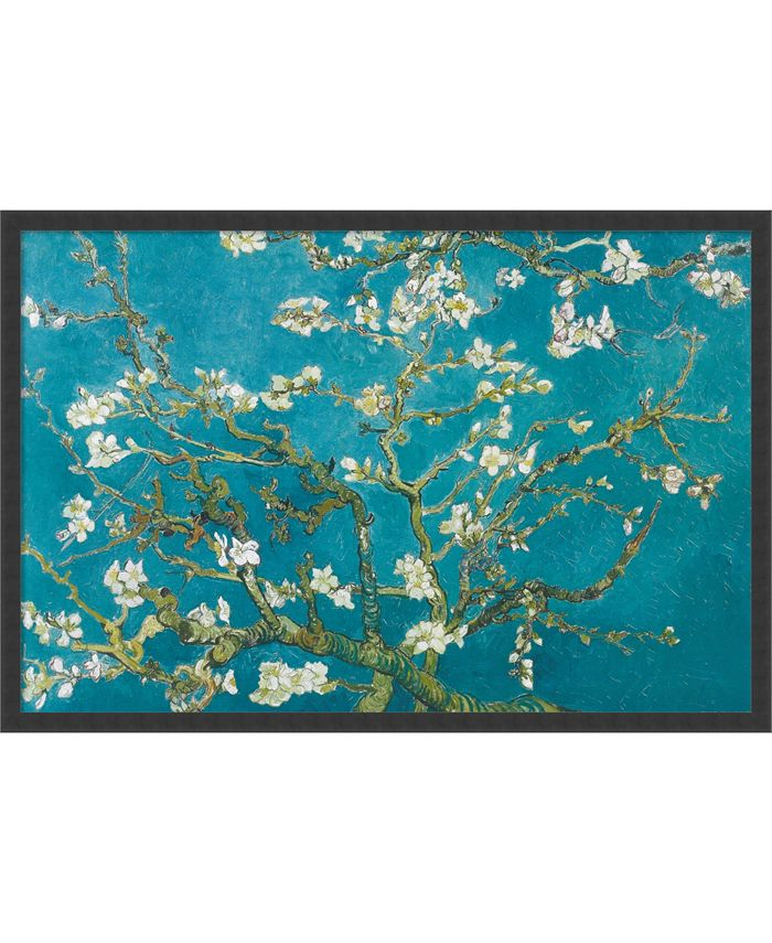 Amanti Art - Almond Branches in Bloom, San Remy, detail (ii) 37x25 Framed Art Print