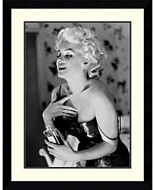 Marilyn Monroe, Chanel No. 5  Framed Art Print