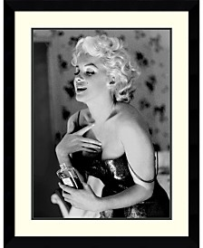 Amanti Art Marilyn Monroe, Chanel No. 5  Framed Art Print