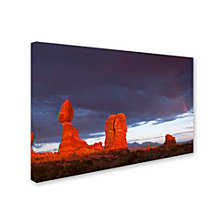 Michael Blanchette Photography 'Storm Aftermath' Canvas Art