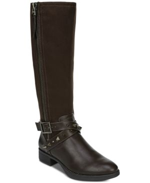 Image of Circus by Sam Edelman Portia Riding Boots Women's Shoes