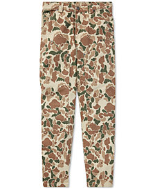 Polo Ralph Lauren Big Boys Camo Cotton Carpenter Pants