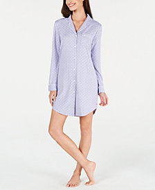 Charter Club Printed Sleepshirt, Created for Macy's
