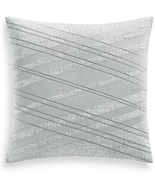 """Lateral 20"""" Square Decorative Pillow, Created for Macy's"""