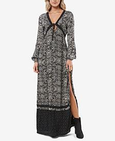 O'Neill Juniors' Creedence Printed Maxi Dress