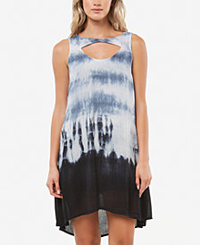 O'Neill Juniors' Zoe Cutout Tie-Dyed Dress