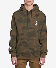Men's Deadly Stone Camo Graphic Hoodie