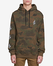 Volcom Men's Deadly Stone Camo Graphic Hoodie