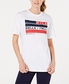 Fila Margarita Cotton Graphic T-Shirt