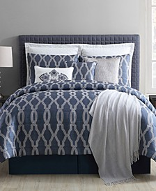 CLOSEOUT! Brady 10-Pc. Full Comforter Set