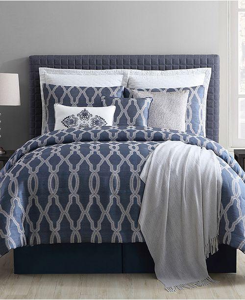 VCNY Home CLOSEOUT! Brady 10-Pc. Full Comforter Set