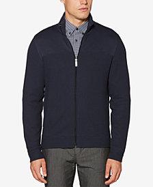 Perry Ellis Men's Full-Zip Knit Jacket