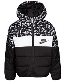 Nike Toddler Boys Oversized Colorblocked Puffer Jacket