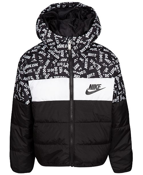 Nike Toddler Boys Oversized Colorblocked Puffer Jacket   Reviews ... c5a2d279b