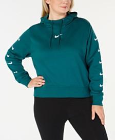 Nike Plus Size Sportswear Fleece Logo Hoodie