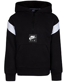 Nike Toddler Boys Air Pullover 1/4-Zip Hoodie