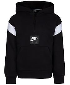Nike Little Boys Air Pullover 1/4-Zip Hoodie