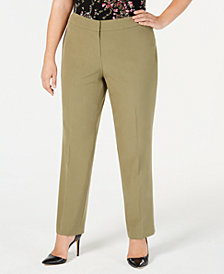 Nine West Plus Size Career Pants