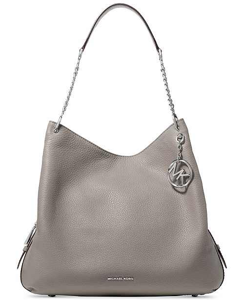 dda38454caa9 Michael Kors Lillie Chain Shoulder Tote. Watch Video. Macy s   Handbags    Accessories