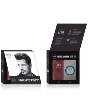 Image of American Crew 2-Pc. Fiber Holiday Gift Set, from Purebeauty Salon & Spa
