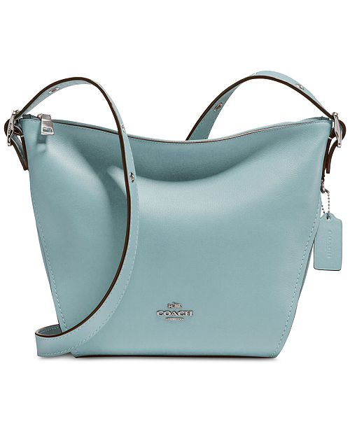 harmonious colors new concept fashion style COACH Crossbody Dufflette in Refined Leather & Reviews ...