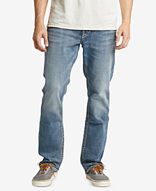 Silver Jeans Co. Men's Grayson Easy-Fit Straight Jeans