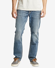 Silver Jeans Co. Men's Grayson Easy-Fit Straight Big & Tall Jeans