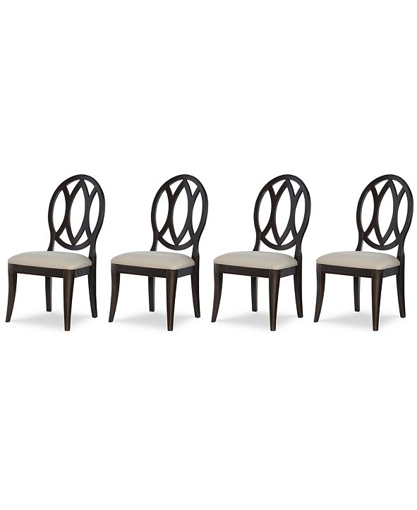 Furniture Rachael Ray Everyday Dining, 4-Pc. Set (4 Oval Back Side Chairs)