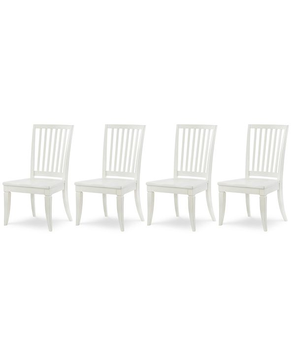Furniture Rachael Ray Everyday Dining, 4-Pc. Set (4 Slat Back Side Chairs)