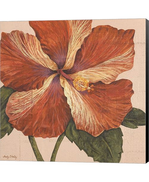 Metaverse Island Hibiscus I by Judy Shelby Canvas Art