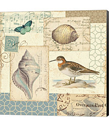 Coastal Collage II by Pela Canvas Art